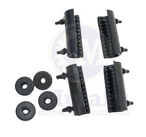 4 Rubber Washers & 4 Cushions Grommets for Harley Saddlebag 2014 +