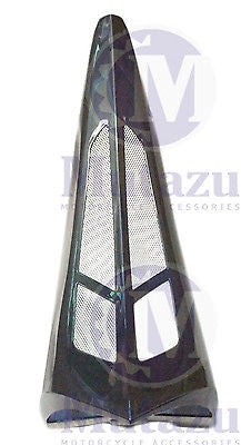 Mutazu Black Pearl Chin Spoiler Scoop For Harley Touring Models FLT FLH FLTR