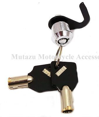 Mutazu Replacement Lock Set & 2 Keys for Harley Touring Tour Pak Razor Chopped