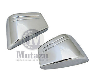 Mutazu Pair Chrome Side Covers fit Honda VTX 1800C 1800 C models. Made with ABS