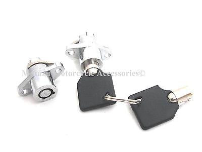 Premium Hard Saddlebag Lock Set For Harley Touring Models (93-2013)
