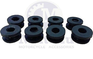 8 Piece Replacement Rubber Grommets for Universal Hard Saddlebags