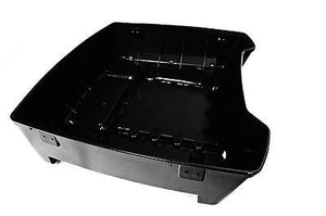 Vivid Black Chopped Base ONLY Harley HD Tour Pak Trunk Pack Touring