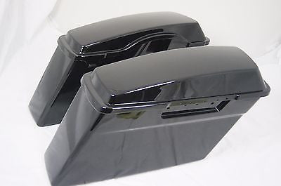 Unpainted Raw Replacement ABS Saddlebags for H-D Touring 1994-2013