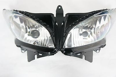NEW Premium Headlight Head light Assembly Yamaha FZ6 2003-2009 04 05 06 07 08 09