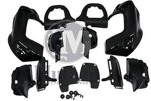 Lower Vented Fairing Kit with Quick Release Hardware fits Harley Touring 83-2013