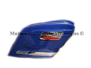 Universal HL Hard Saddlebags - Cobalt Blue