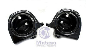 "Vivid Black Lower Vented Fairing 6.5"" Speaker Pods"