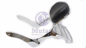 Mutazu Sissy Bar Backrest w/ Luggage Rack fits Kawasaki Vulcan VN900 900 VN