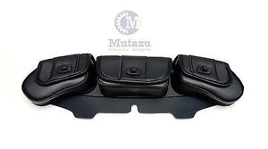 3 Pouch Windshield Bag with Locking Feature (002)