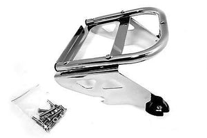 Mutazu Detachable Solo Tour Pak Rack for 97-08 Harley Touring FLHT FLHX FLHR