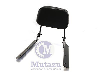 Mutazu Black Sissy Bar Sissybar Backrest for Honda CTX700N 2014 2015