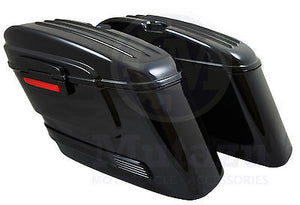 Universal HL Hard Saddlebags - Black Out
