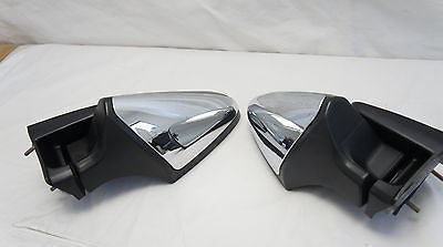 Chrome Rearview Mirrors for Kawasaki ZG1400 Concours 2008-2014