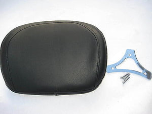Mutazu Smooth Passenger Backrest Pad for Harley HD Detachables Sissy Bar FLH FLT