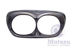 Black Pearl Bad Boy Bezel for Harley Road Glide
