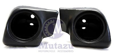 Mutazu Speaker Pods for Harley HD Non Vented Lower Fairings FLHT FLHX FLHR