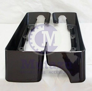 "4"" Black Cherry 2 into 1 CVO Saddlebag Extensions (94-2013)"