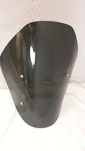 "Custom made 22"" tall windshield wind shield for Suzuki M109R, Light tinted"