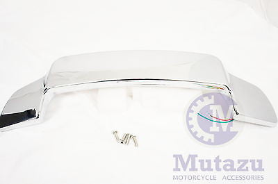 Chrome LED Light Spoiler for Razor Chopped & Harley King Tour Paks 1993-2013