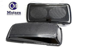 Fat Ass Dual 6x9 Speaker Lids for Mutazu FAT saddlebags (1994-2013)