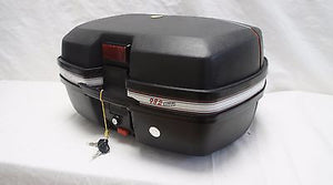 Mutazu Detachable Motorcycle 42 Liter Trunk Storage Case 982 with Brake Light