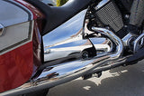 Mutazu Chrome Side Cover Covers fit Victory Cross Country Road. Made with ABS, Sold in pair