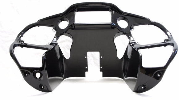 Mutazu Vivid Black Inner ABS Front Fairing for Harley Road Glide 2015-UP