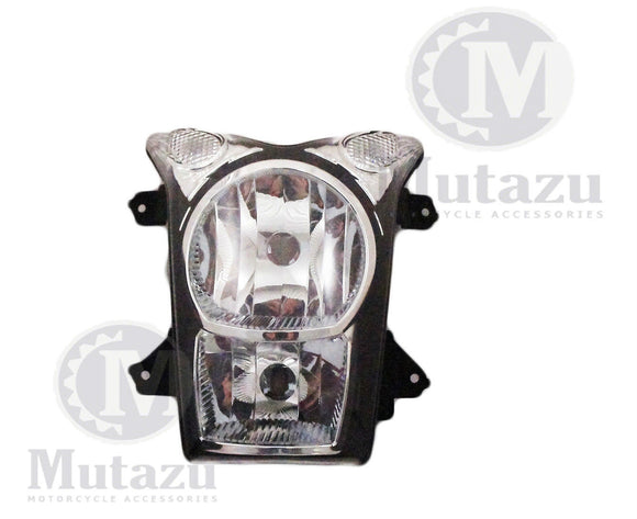 NEW Premium Quality Headlight for Kawasaki ER6N ER-6N (09-10) Clear Lens