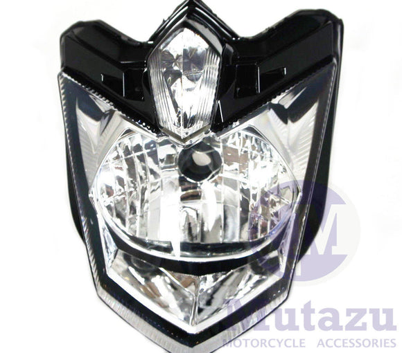 Motorcycle Headlight Light Assembly for Yamaha FZ6R FZ 6R 2009 to 2013 10 11 12