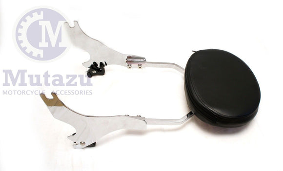 Mutazu Detachable Sissy Bar for 04 - UP Harley Sportster Backrest Sissy Bar