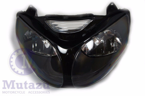 NEW Premium Headlight Head light Assembly Kawasaki ZX12R ZX12 ZX 12R 2000 2001