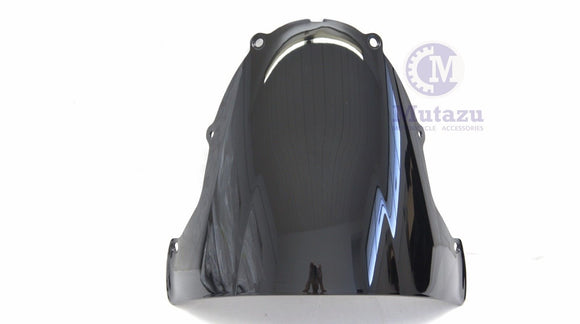 Mutazu Windshield WindScreen Wind Screen For Kawasaki ZX6R ZX636 2003-2004