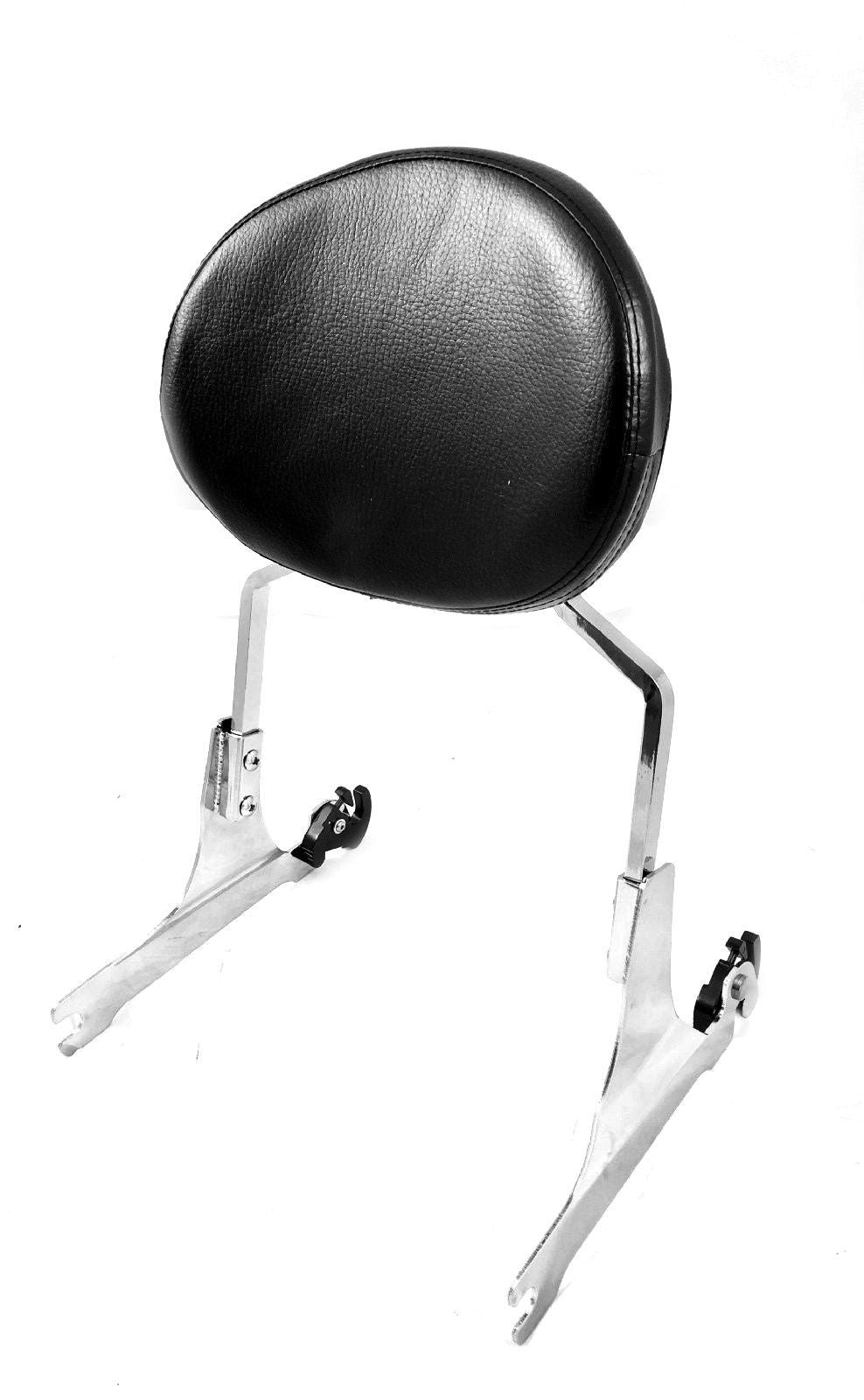 Quick Detachable Sissy Bar With Backrest Harley FXST FLST Models 200mm Rear Tire