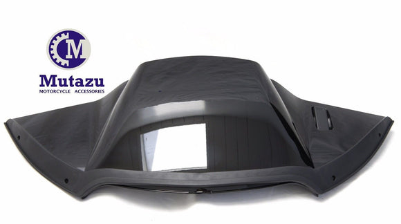 Mutazu Black Top Air Duct Piece Cover Fairing for Harley Road Glide 2015-UP