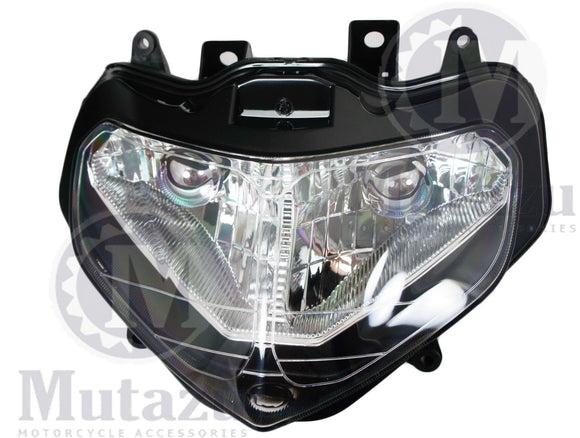 NEW Premium Headlight Head light Assembly Suzuki GSXR 600 750 1000 2000-2003
