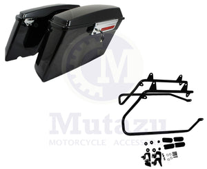 Harley STYLE Saddlebags & Softail Conversion Brackets for Harley