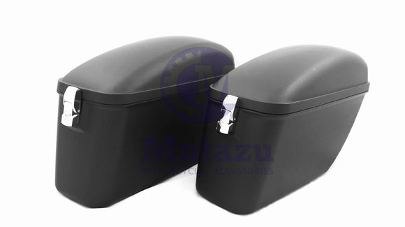 Universal LW Hard Saddlebag - Matte Black