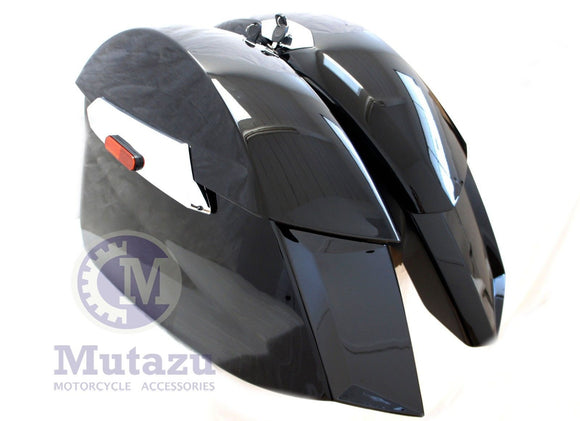 Hard Saddlebags for 2010-2017 Victory Cross Country Cross Roads