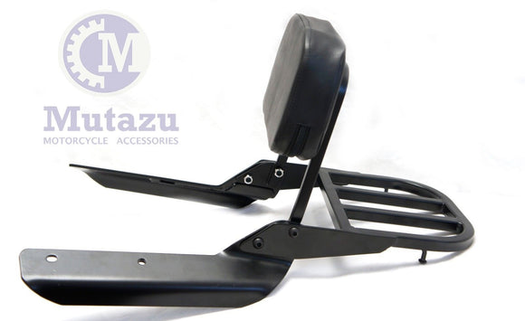 Mutazu Sissy Bar Backrest & Luggage Rack for 2014 2015 Honda CTX 700N