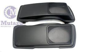 6 x 9 Speaker Lids - Matte Black CVO Style for Harley Touring 1994-2013