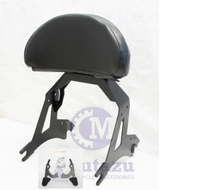 Mutazu Detachable Black Backrest Sissy Bar for Victory Cross Country Road