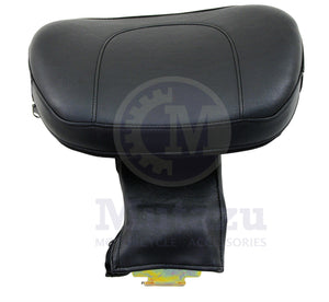 Mutazu Foldable Adjustable Driver Backrest for Yamaha V Star 650 DH2