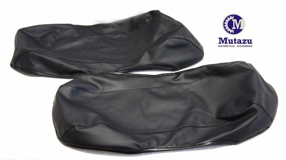 Vinyl lid Covers bra for Harley Touring 1993-2013 hard saddlebags