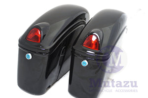 Universal FY Hard Saddlebags - Gloss Black