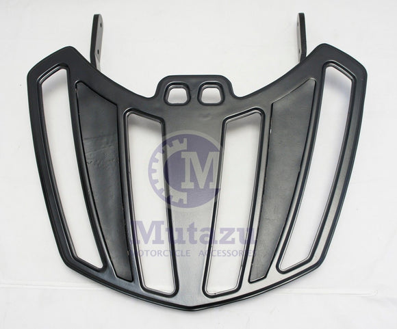 Mutazu Black Billet Luggage Rack for Victory Cross Country Road