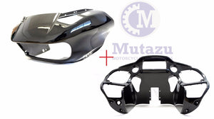 Mutazu Inner and Outer ABS Front Fairing   Harley Road Glide 2015-UP