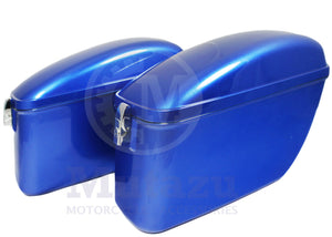 Universal LW Hard Saddlebag - Cobalt Blue