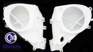Mutazu Raw ABS Inner Fairing Speaker for H-D Harley Electra Street Glide 2014-16