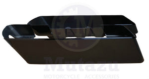 "Non Tapered 4"" Saddlebag Extension for 2014 & Up Harley Hard Bags"